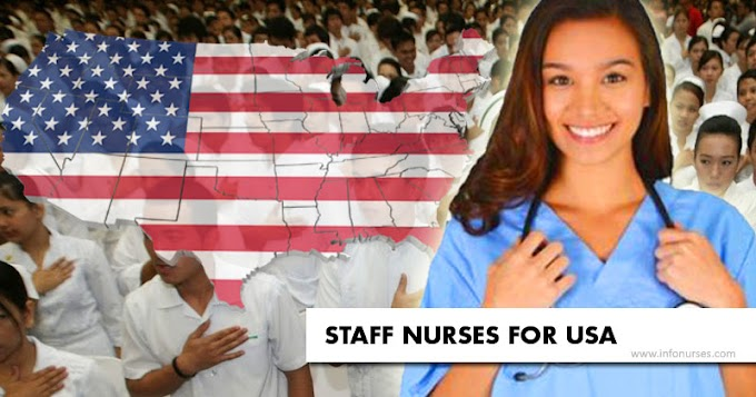 Staff nurses hiring for US, salary up to P400,000 monthly
