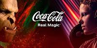 Estamos a uma Coca-Cola de distância! Coca-Cola Real Magic Brazil!