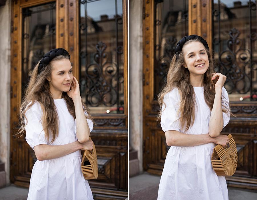 Valkoinen mekko NA-KD // White dress NA-KD