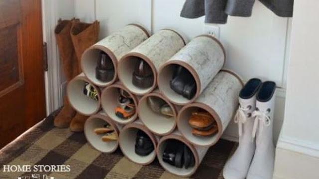 Cara Unik Dan Cerdik Simpan Sepatu Di Rumah Agar Tetap Awet
