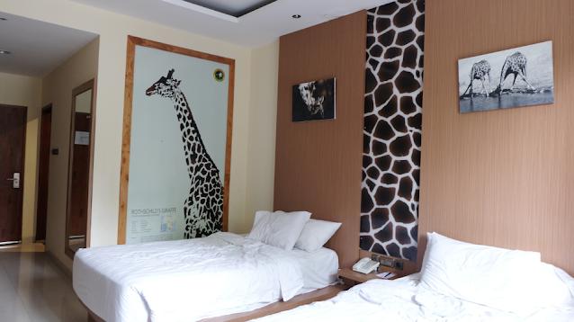 Kamar Giraffe Deluxe Royal Safari Garden