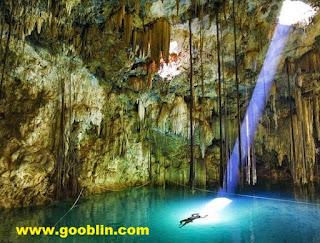 Keindahan gua krubera