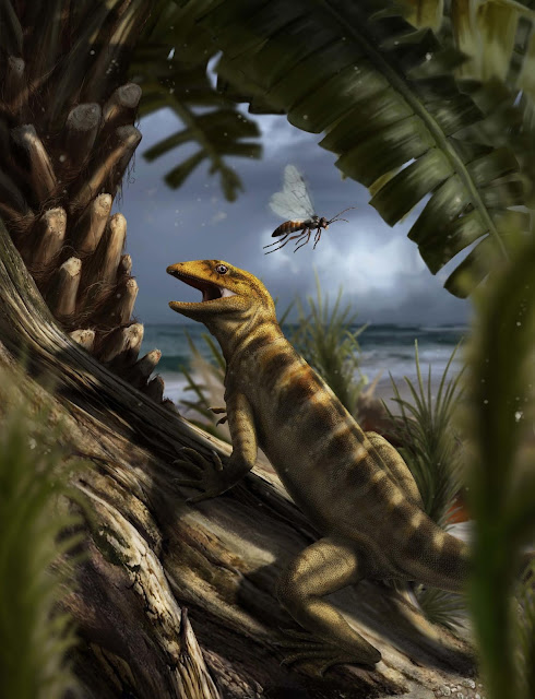 Scientists discover world's oldest lizard fossil