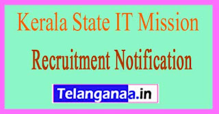 Kerala State IT Mission Recruitment Notification 2017
