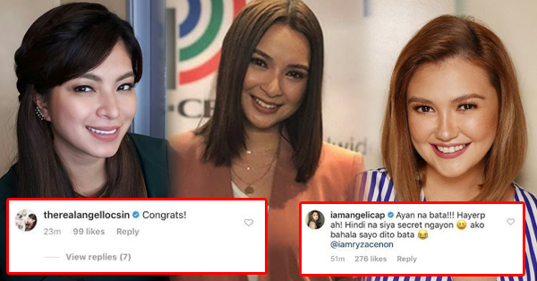 Kapamilya Celebrities Congratulated And Welcomed Ryza Cenon In The ABS-CBN