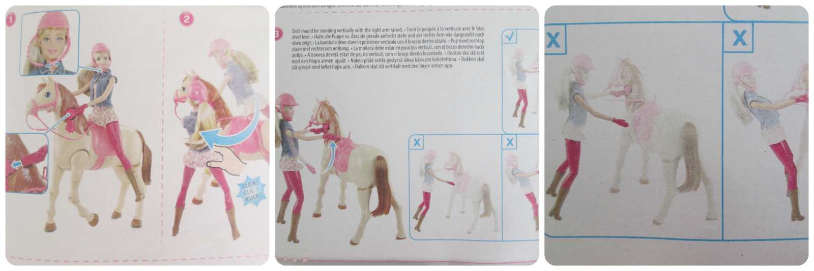 Barbie Saddle 'n Ride Instructions