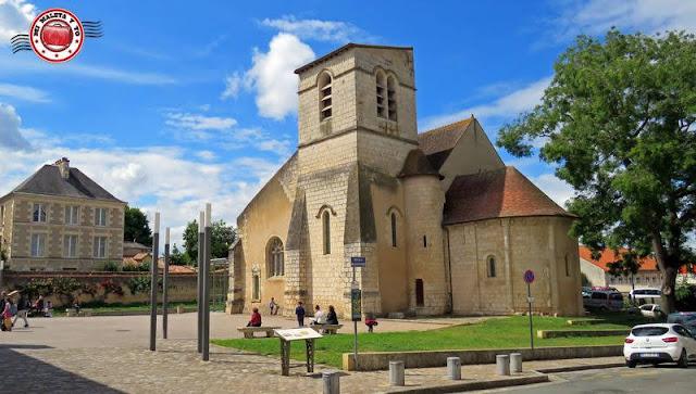 Poitiers - Iglesia de Saint Germain