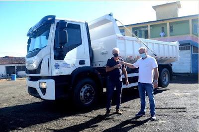 Prefeitura de Registro-SP adquire novo maquinário para serviços de infraestrutura