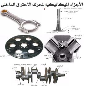 شرح الاجزاء الميكانيكية لمحرك السيارة pdf