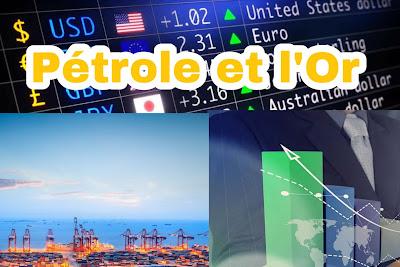 Chute du prix du baril de pétrole brut et l'augmentation du prix de l'Or le lundi 20 avril 2020