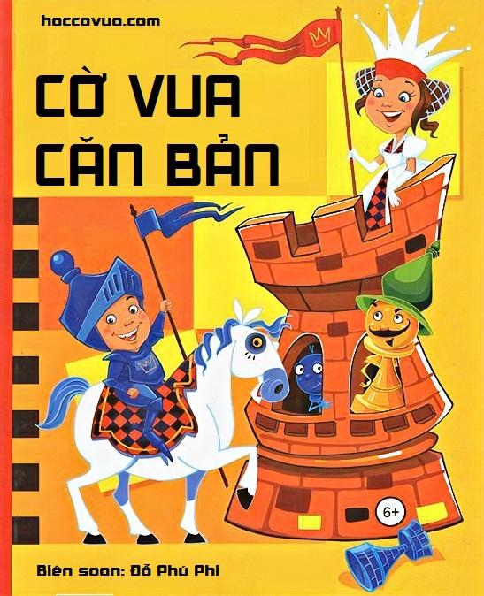 Sách cờ vua trẻ em   Hướng dẫn học cờ vua dành cho thiếu nhi