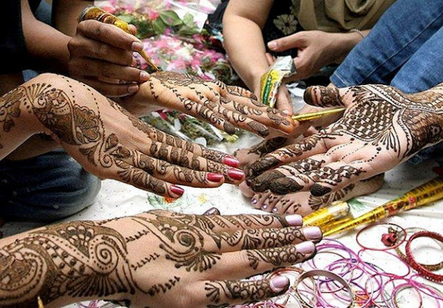 Karwa Chauth Mehndi Designs Collection