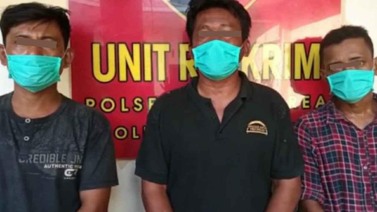 Unit Reskrim Polsek Medan Area Tangkap 3 Pelaku Pemerasan Terhadap Nenek