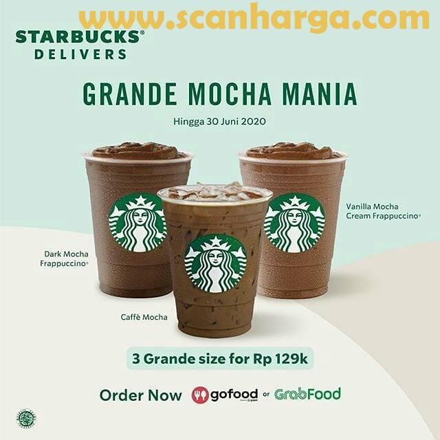 Promo Starbucks Harga Spesial Terbaru 3 minuman Hanya 105RB!