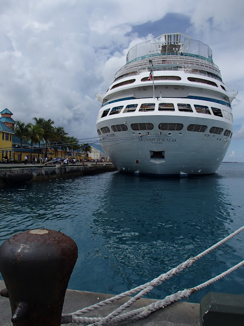 Monarch of the Seas docked in Nassau