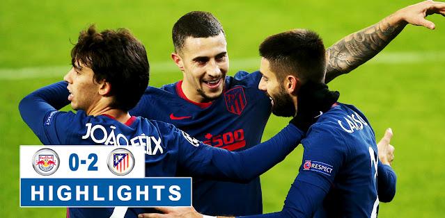 Salzburg vs Atlético Madrid – Highlights