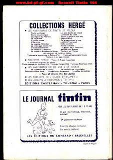 Recueil du journal Tintin, numéro 164, 1982-1983