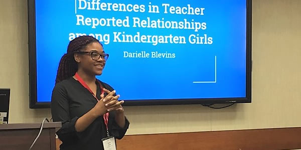 Darielle Blevins presents at SRS 2017