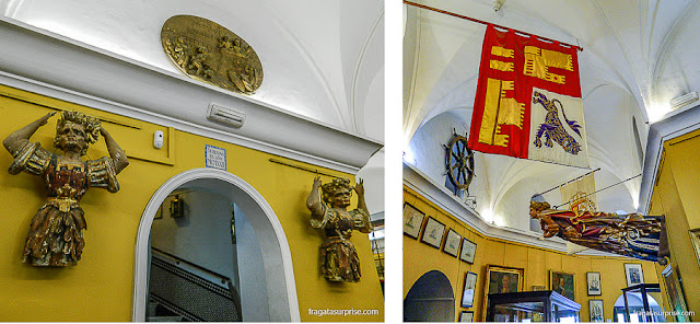 Museu Naval de Sevilha, na Torre do Ouro