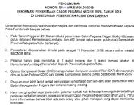 Pengumuman Resmi CPNS 2021 Pdf Website Sscn.bkn.go.id