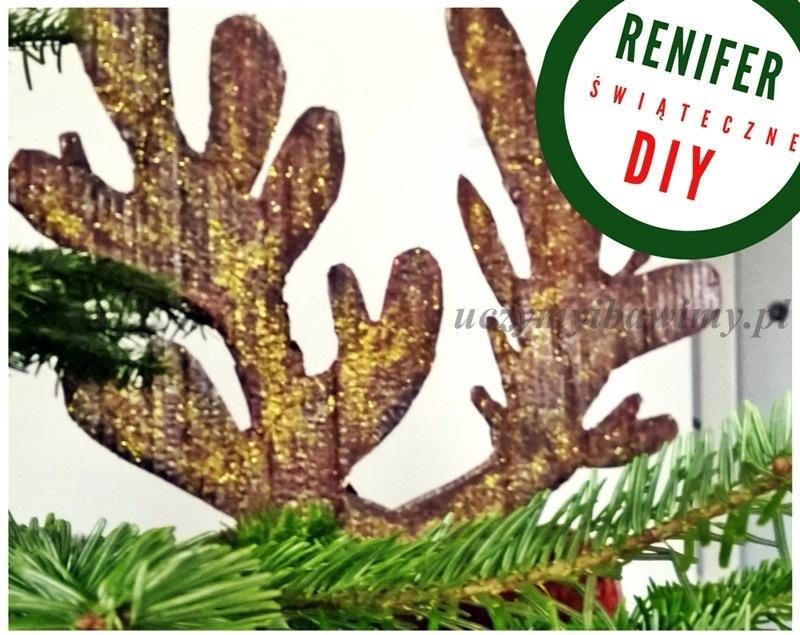 diy pomysł na dekoracje świąteczną