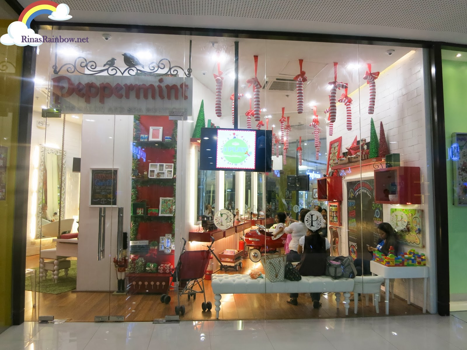 rina 39 s rainbow peppermint a dainty vintage kids salon. Black Bedroom Furniture Sets. Home Design Ideas