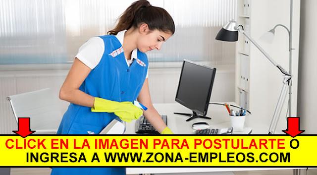 SE BUSCA PERSONAL DE LIMPIEZA DE OFICINAS - PART TIME