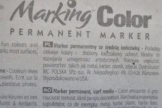 BIC Marking Color marker permanentny