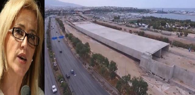 ΑΡΙΣΤΕΡΗ ΤΣΙΜΕΝΤΟΠΟΙΗΣΗ! Καμίνι η Αθήνα από το παραλιακό «τείχος» της Δούρου…