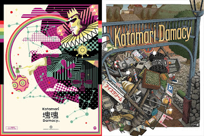 Katamari Damacy Screen Prints by We Buy Your Kids, Landland and Mondo