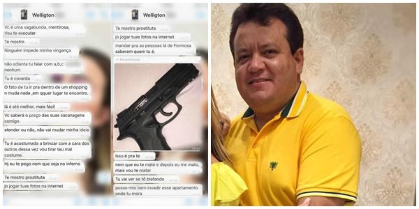 MARANHÃO - 'Na hora que eu te encontrar vou te encher de balas', diz homem preso por ameaçar ex