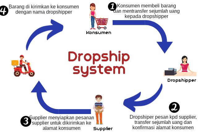skema dropship