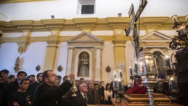 El Lignum Crucis de Vera Cruz presidirá el vía crucis de San Fernando
