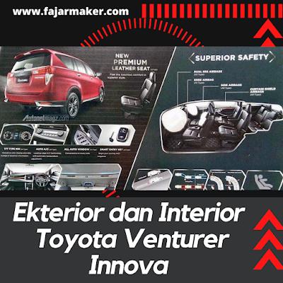 Ekterior dan Interior Toyota Venturer Innova