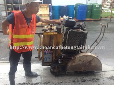 Khoan cắt bê tông tại thành phố Bạc Liêu