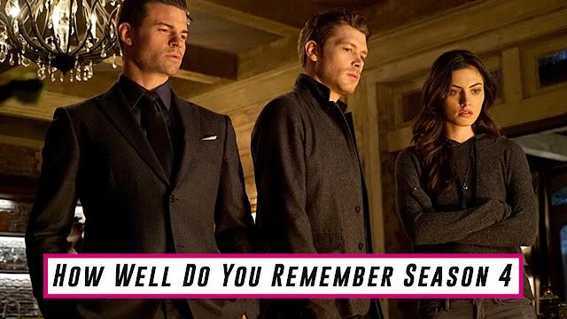 The Originals,Legacies,The Vampire Diaries,The Originals Quiz