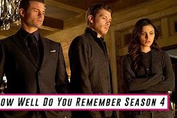 How Well Do You Remember Season 4 of The Originals?