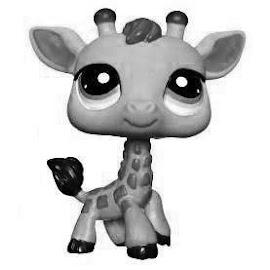 LPS Giraffe V1 Pets