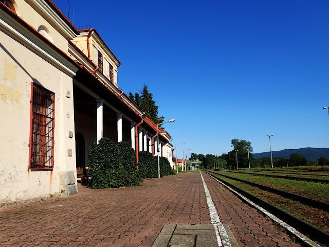 Łupków, stacja PKP. W oczekiwaniu na pociąg