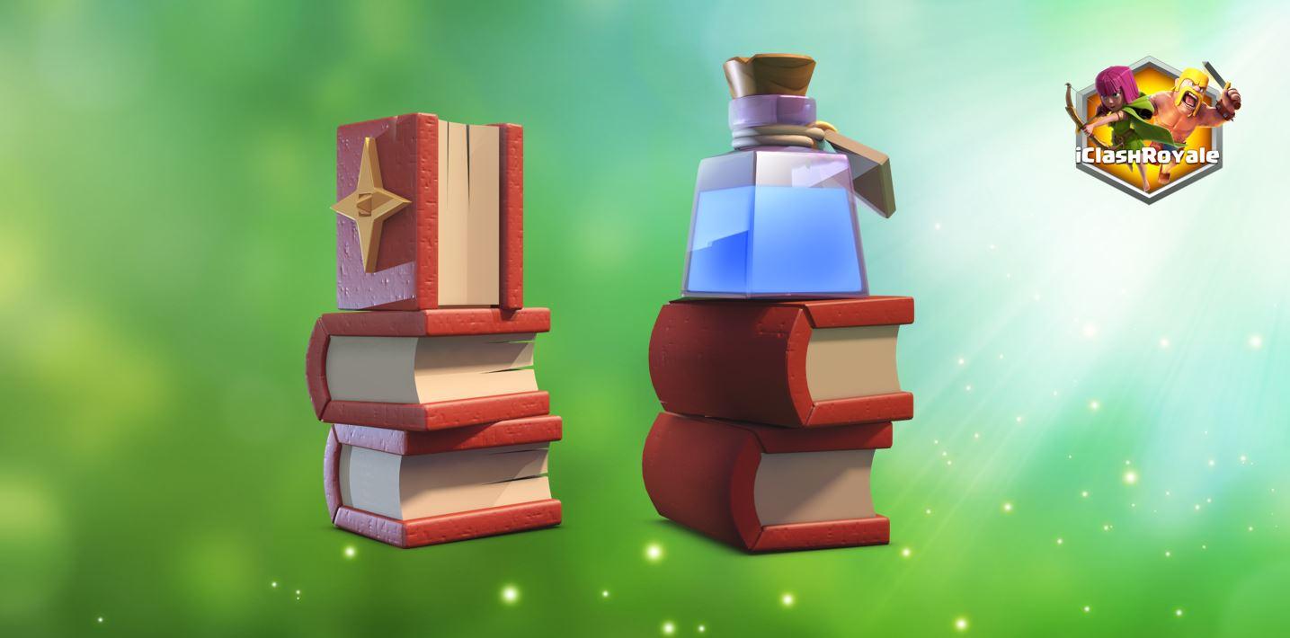 magic items, clash of clans
