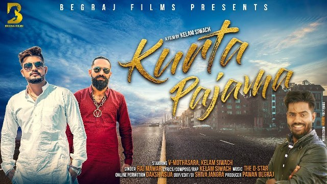 Kurta Pajama Lyrics - Raj Mawer