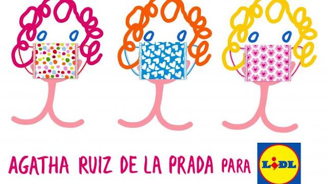 Mascarillas_Higiénicas_Reutilizables_ LIDL_Agatha_Ruiz_de_la_ Prada