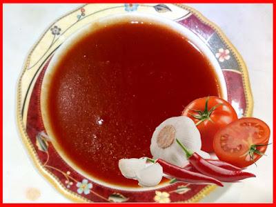 Tomato Chilli Garlic Sauce Recipe