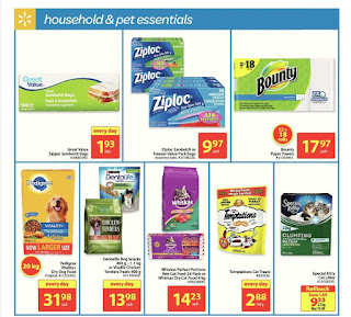 Walmart Weekly Flyer - Back to School August 24 - 30, 2017