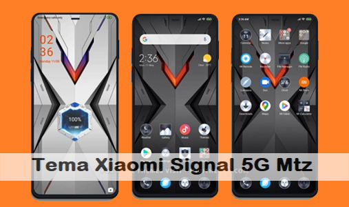 Keren! Tema Xiaomi Signal 5G Mtz