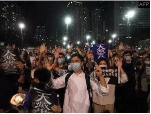 Hong Kong Defied a Police Ban As they marks Tiananmen anniversary