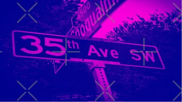 35th Avenue Southwest, West Seattle, Washington by Mistah Wilson