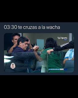 Maradona mundial Rusia 2018 humor