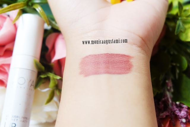 review zoya lip paint mocha mousse