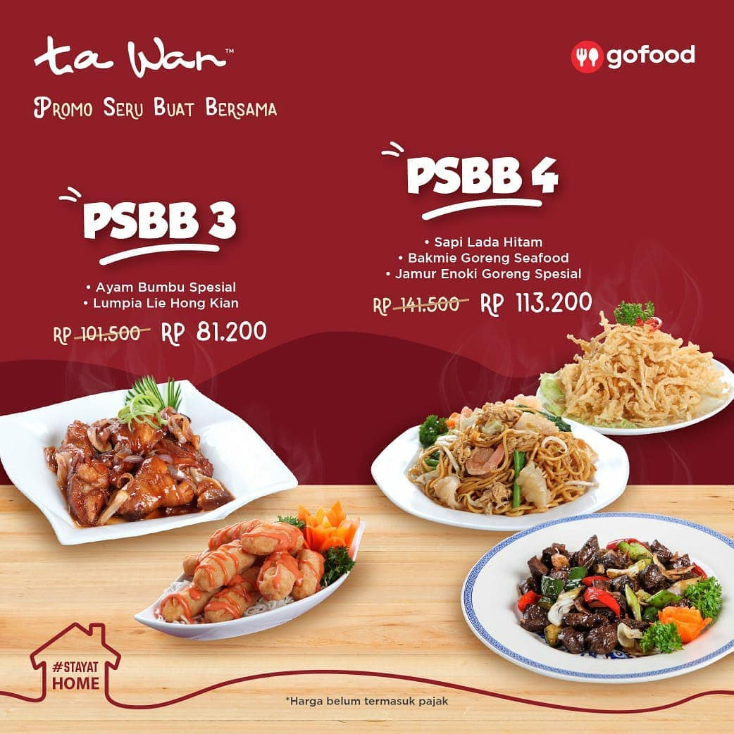 Promo Ta Wan Paket PSBB Promo Seru Buat Bersama